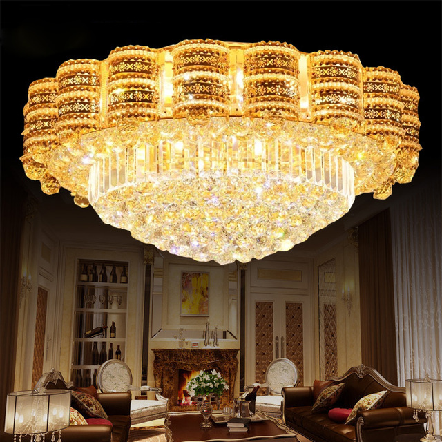 Luxus LED kristall lampen Wohnzimmer Deckenleuchte Atmosphäre ...