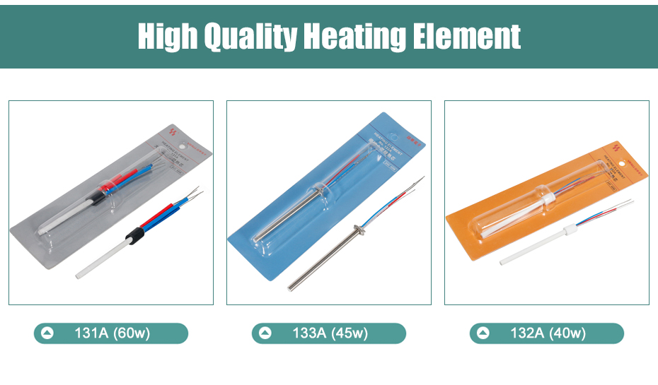 Soldering Iron Core Heater 40W 45W 60W Heating Element Core For YIHUA 995D 853D