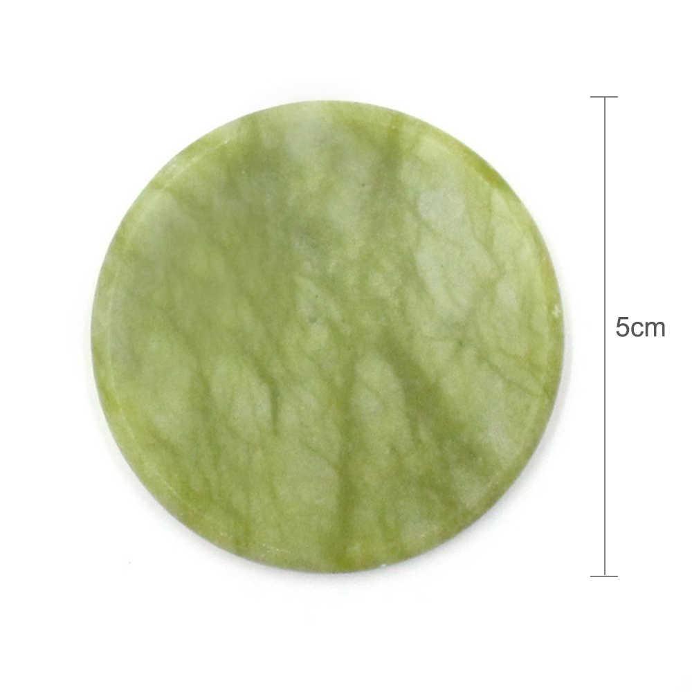 Dapat Digunakan Kembali Bulat Hijau Grafting Lem Bulu Mata Jade Gasket Bulu Mata Palsu Ekstensi Lem Perekat Pallet Dudukan Bantalan TSLM2