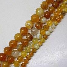 Мини. Заказ составляет 7 долларов! Светло-желтые круглые бусины диаметром 6-12 мм, 15 дюймов