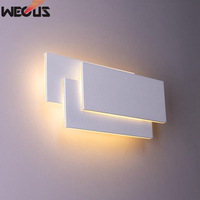 Multi layer wall lamp led modern indoor hotel decoration light living room bedroom bedside TV background picture aisle lamps
