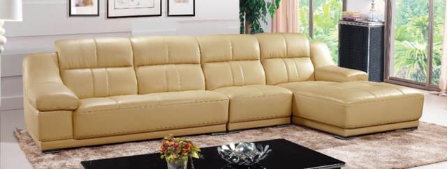 Online Shop Living Room Furniture New Model Wooden Direction Sofa