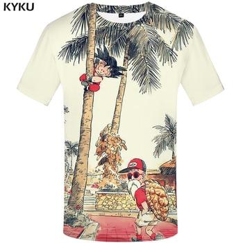 KYKU Brand Dragon Ball T Shirt 3d T-shirt Anime Men Funny Shirts Hip Hop 2017 Japanese Mens Clothes Vintage Clothing