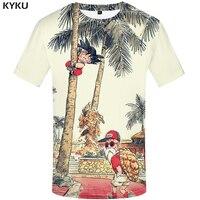 KYKU Brand Dragon Ball T Shirt 3d T Shirt Anime Men T Shirt Funny T Shirts