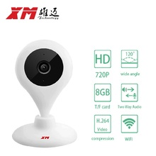 Original Home Security IP Camera IR-Cut Night Vision P2P Baby Monitor Audio WIFI CCTV  Indoor Surveillance Camera free SD card