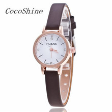 CocoShine A-912  Female Models Fashion Thin Belt Rhinestone Belt Watch wholesale