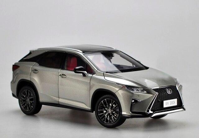 Gifts Original 1:18 The new L XUS RX RX200T SUV alloy car models Favorites Model
