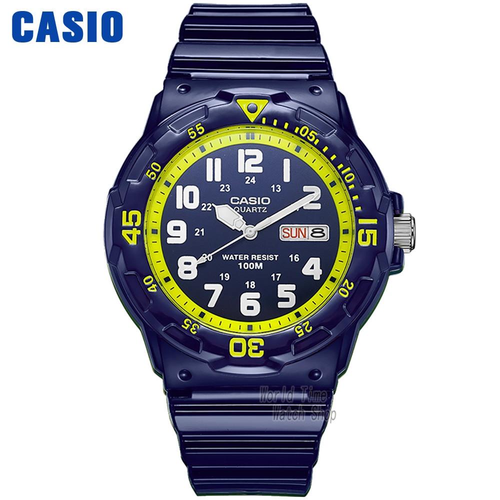 Casio watch Simple sports fashion leisure waterproof watch MRW-200HC-2B MRW-200HC-7B2 casio watch sweet fashion sports female student watch lx 500h 1b 1e 4e 7b2
