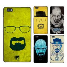 Breaking Bad Chemistry Walter Hard Case Black Cover Scrub for Huawei P8 P9 Lite Plus P7 Mate S 7 8 9
