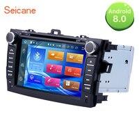 Seicane 8 автомобильное радио 2Din Android 8,0 gps навигация мультимедийный плеер головное устройство для Toyota Corolla 2012 2014 2008 поддержка DVR