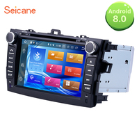 Seicane 8 Car radio 2Din Android 8.0 GPS Navigation Multimedia Player Head Unit For Toyota Corolla 2012 2014 2008 Support DVR
