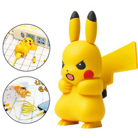 Cute Design Cartoon Pikachu Shape Mobile Phone Charger USB Adapter With Cable For Xiaomi Mi6 Mi5