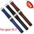 NEW Watchband For Samsung Gear Fit 2 Watch band Genuine leather Replacement Wristband for samsung gear fit 2 Strap [in stock]