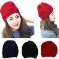 [Ode To Joy]2016 New Design Fashion Skullies Beanies Women Warm Hat Knit Female Cap Men Winter Hat For Women Beanie Warm Cap
