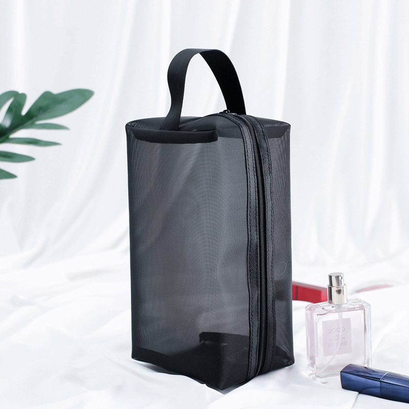 Transparent Women Cosmetic Bag Travel Function Makeup Case 2019 Zipper Make Up Organizer Storage Pouch Toiletry Beauty Wash Bag 3