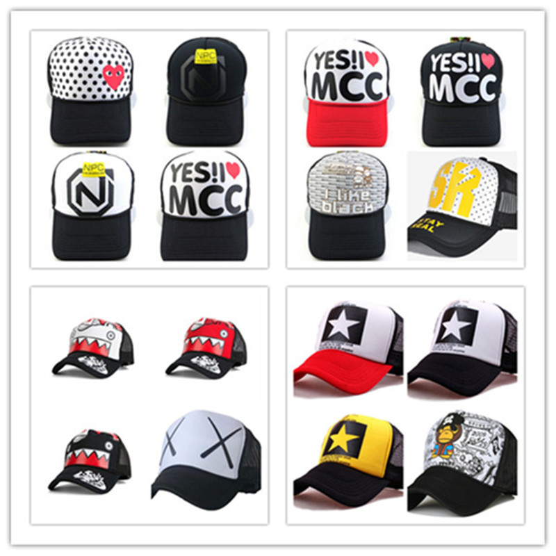 aad911e1e ᗐNEW Women Men Fashion Mesh Hat Cap Trucker Snapback adjustable ...