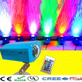 Продажа завода US/ЕС Plug Дистанционного 10 Вт красочные LED Волна Воды Волновой Эффект Свет Этапа/LED освещение лазерный Проектор для Партии