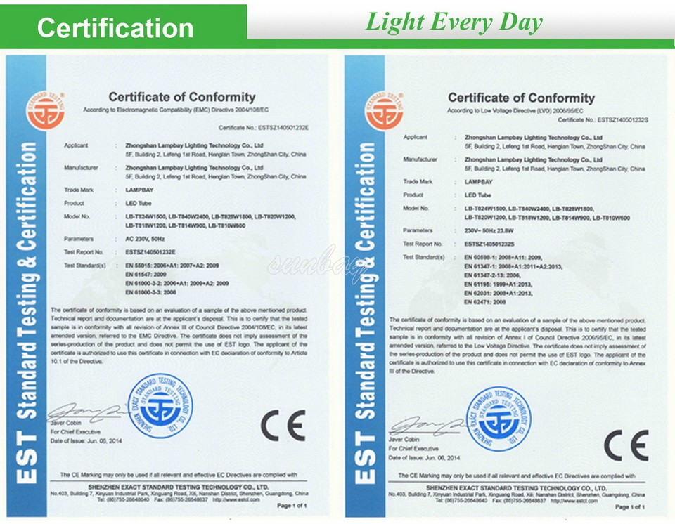 10S-T8-G13-Certification