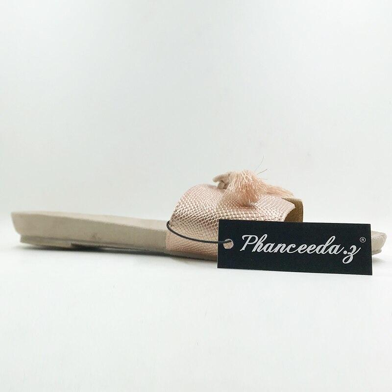 Neue 2018 Schuhe Damen Schuhe Sommersandalen Perlen und Blumen - Damenschuhe - Foto 6