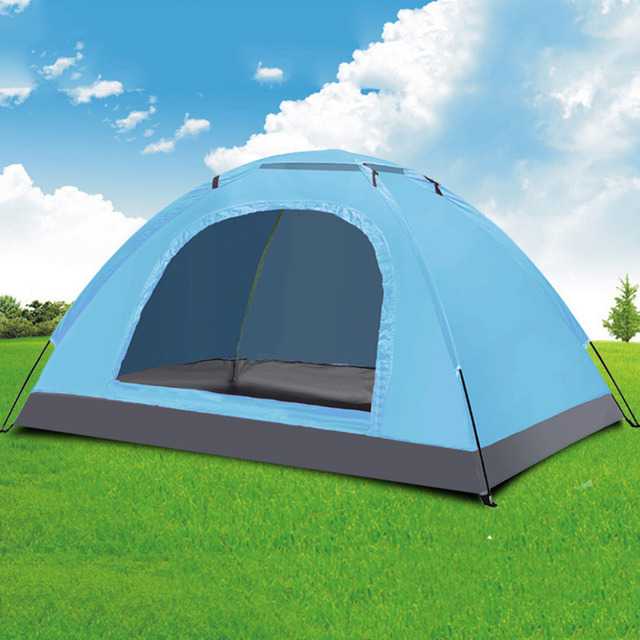 2 3 Person Tent 200x150x110cm 3 Season Single Layer Anti Uv