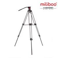 Miliboo MTT601A сплав алюминий жидкости шаровой головкой видеокамера штатив 15 кг медведь вес с головкой для штатива