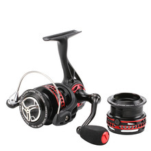 NEW Arrival Seaknight  2000 Spinning Fishing Reel 10+1BB Coarse Fishing Tackle Lightweight  Metal reel spare Shallow spool