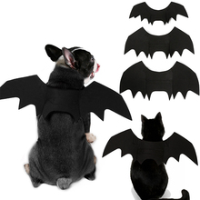 1PC Costume Halloween Pet Bat Wings Clothes Puppy Funny  Fit Party Dogs Cats Playing Articles
