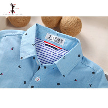 Summer Short Sleeve Boy's Shirt