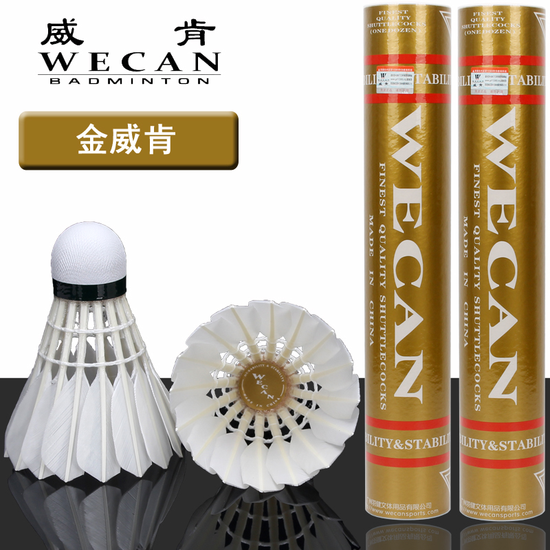 1 tube Free shipping Badminton shuttlecock Resistance Hit durable duck feather shuttlecock