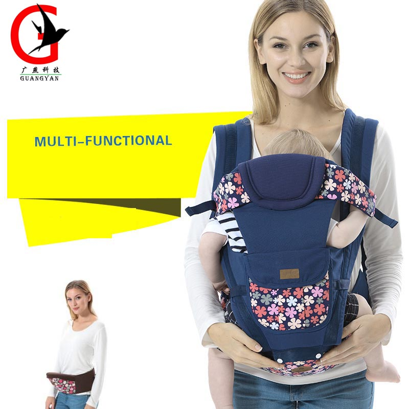 3-36months Baby Carrier Baby Sling Hipseat Baby Wrap Backpack Multifunction Infant Carrier Removable Baby Waist Stool Xcye-50072 multifunction backpack for baby infant comfort hipseat front carrier sling for children strap baby waist stool chicco mambo