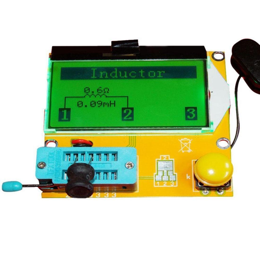 цена на LCR-T3 Transistor Tester Diode Triode Capactitance ESR LCR Meter MOS PNP NPN