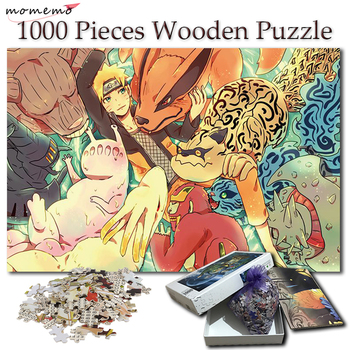 momemo a ship to sail adult puzzles 1000 pieces wooden puzzle jigsaw puzzle games landscape puzzles wooden toy for children kids MOMEMO Naruto and Tailed Beasts Wooden Jigsaw Puzzles 1000 Pieces Adult Cartoon Anime Puzzle NARUTO Wooden Puzzle Games for Kids