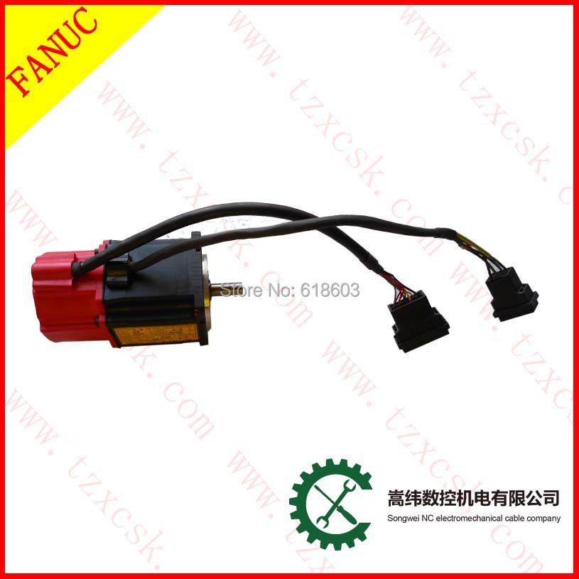 Home Improvement Motors & Parts Provided Fanuc Beta 0.5/3000 Ac Servo Motor A06b-0113-b075 Let Our Commodities Go To The World