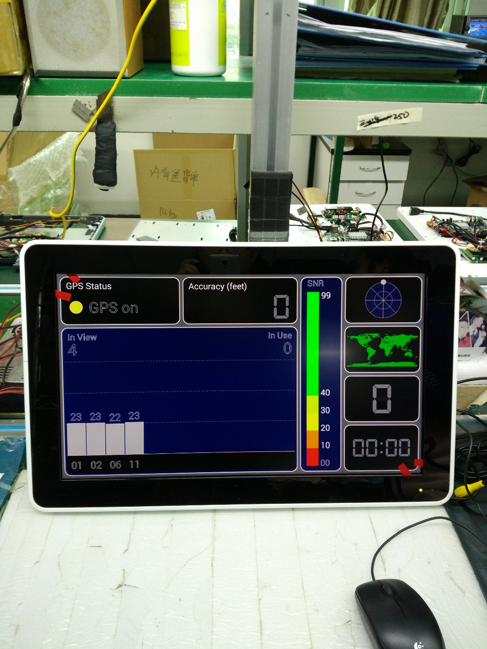 DC12 24V 21.5 ''металлический каркас на крыше автобуса монитор 2 AV вход потолок дисплей с Android4.4 OS. 3G 4 г GPS VGA, HDMI, USB SD