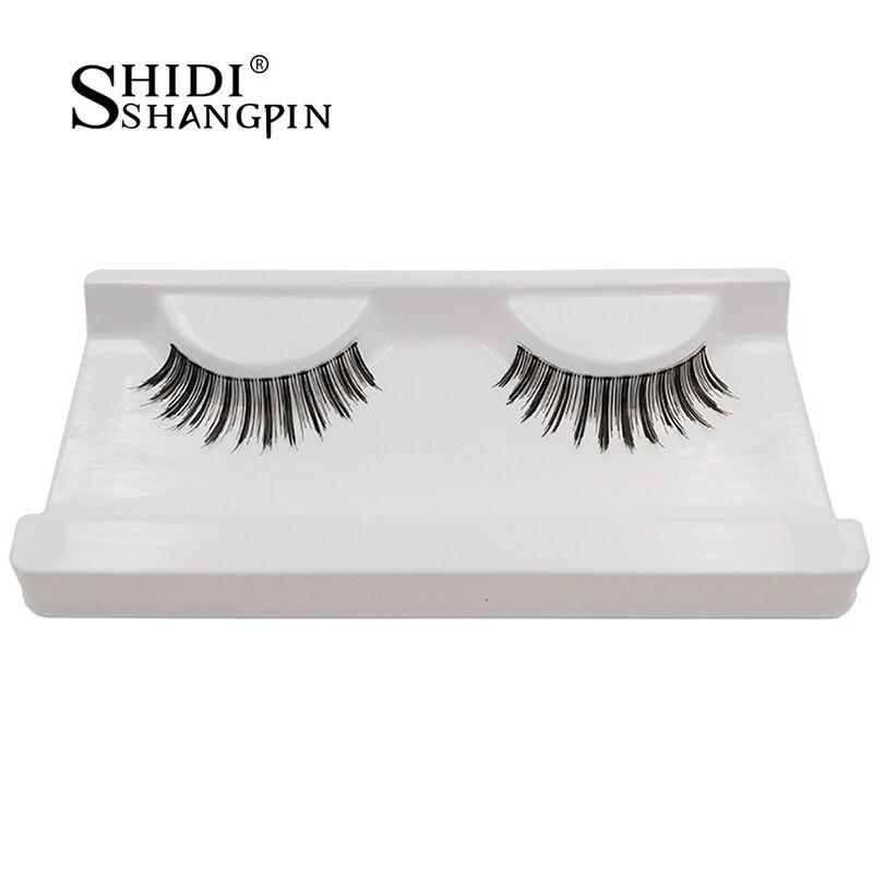 1 Pair SP Saparent Hair of Transparent Fake Eye Lashes Natrual Tip Big Eye Eyelashes False Reusable Hair Beauty Eye Lashes