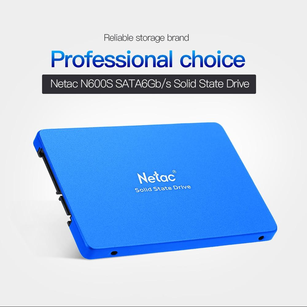 Disque dur interne N600S Netac 430 GB SSD Disco SATA6Gb/s TLC disque dur SSD pour ordinateur portable disque dur