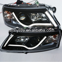 LED Head Light For Audi A6L 2009-2012 year LED head lamp SN