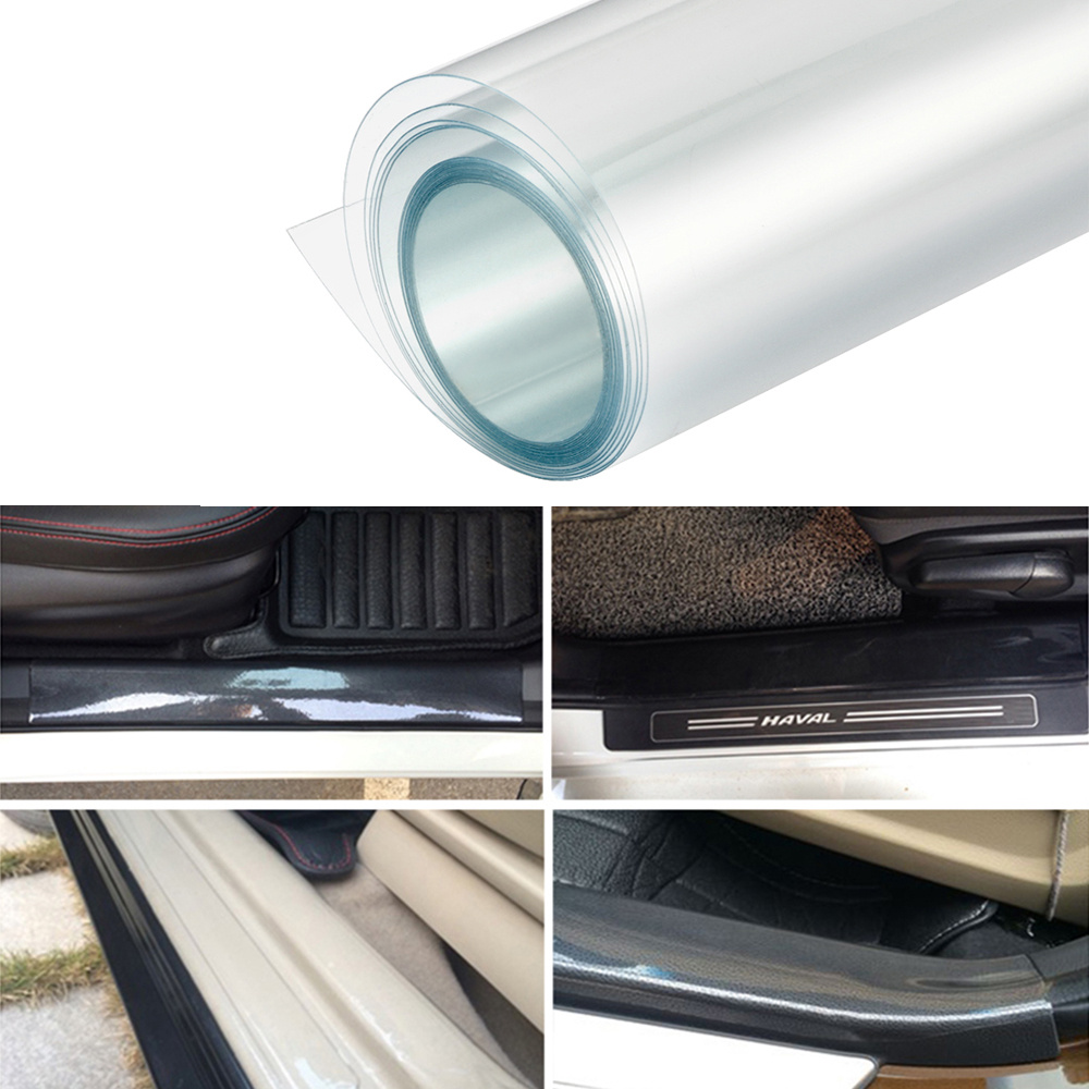 1M 2M 3M  Rhino Skin Sticker Protection Anti-dirty Film Vinyl Clear Transparence For Auto Car Bumper Hood Paint