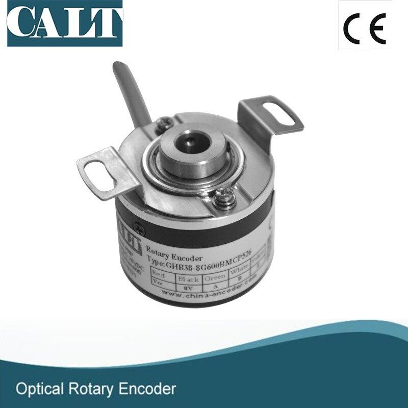 CALT optical incremental encoder GHB3808G3600BML5 blind shaft 3600ppr line driver rotary encoder an incremental graft parsing based program development environment