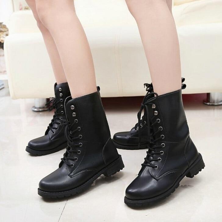 Online Get Cheap Girls Combat Boots -Aliexpress.com | Alibaba Group