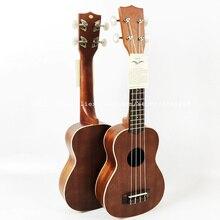 Hochwertige 21 Zoll Sopran Volle Sapele Ukulele (Uke, Akustische Gitarre) Palisander Griffbrett 4 Saiten für anfänger KA-S