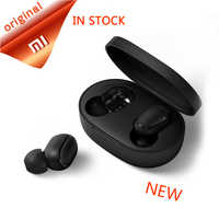Xiaomi Redmi AirDots bluetooth earphone Mini True mi Wireless Bluetooth 5.0 earphones DSP Active Noise Cancellation Earbuds