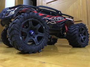Image 1 - Wheels Waterproof wear resistant Tire RC Monster truck for TRAXXAS X MAXX X MAXX