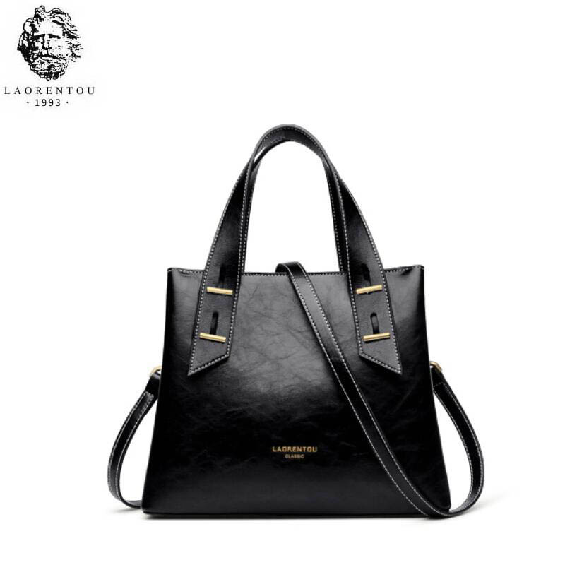 LAORENTOU high quality fashion luxury brand bag new female bag 2019 new simple large capacity messenger bag leather atmosphereLAORENTOU high quality fashion luxury brand bag new female bag 2019 new simple large capacity messenger bag leather atmosphere