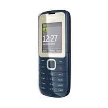 Восстановленное Оригинальное C2-00 разблокирована Nokia C2-00 мобильного телефона черный и красный цвет для вы выбираете Восстановленное