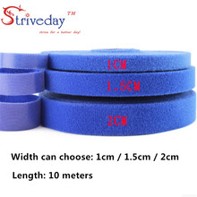 10 Meters/roll magic tape nylon cable ties Width 2 cm wire management cable ties 5 colors to choose from DIY цена и фото