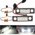 2Pcs License Number Plate Light Lamp 18-LED For  For Skoda/Octavia/Roomster/5J No Error White 13.5V 7000K