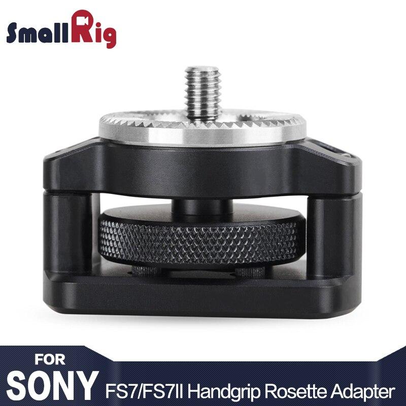SmallRig Handgrip Rosette Adapter for Sony FS7 and FS7II ARRI Standard Rosette 31 8mm 1887