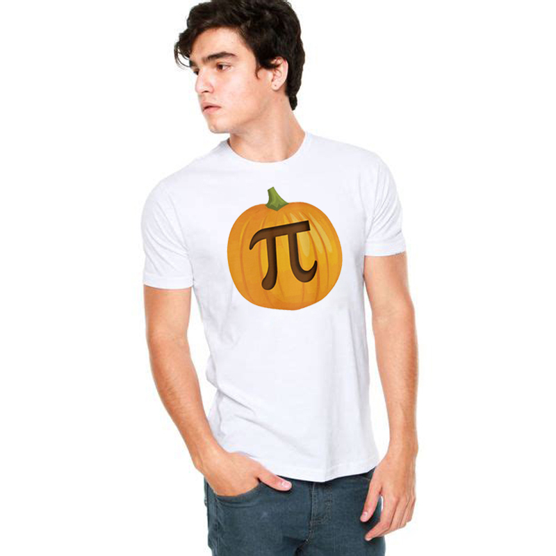 SexeMara Mens Pumpkin Pi T Shirt Math Shirt Pie Thanksgiving Tee for Male Halloween Holiday Gift Funny Graphic Mens Fashion Tops in T Shirts from Men 39 s Clothing