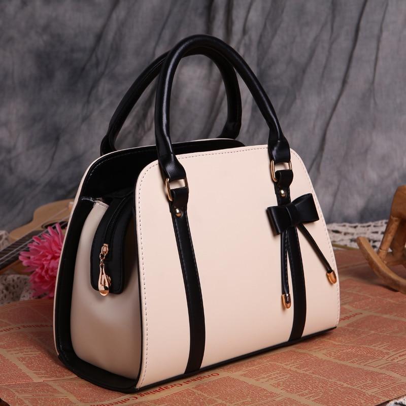 629b60c906 2018 Spring Shell Bag for Ladies New Bow Handbags Female Purse Women s  Handbags Women Shoulder Messenger